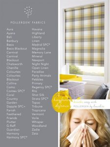 POLLERGEN fabric products